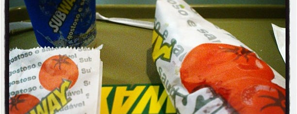 Subway is one of Favorite food/drink places in Porto Alegre, Brasil.