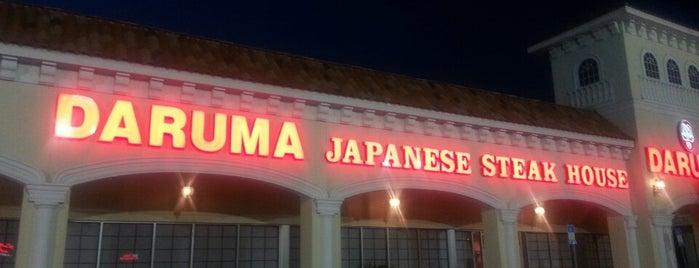 Daruma Japanese Steak House & Sushi Bar is one of The 15 Best Japanese Restaurants in Jacksonville.