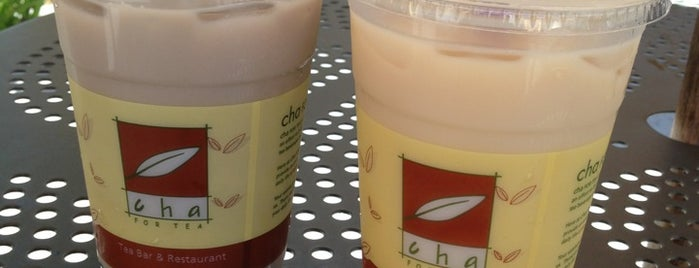 Cha For Tea is one of OC Drinks and Desserts.