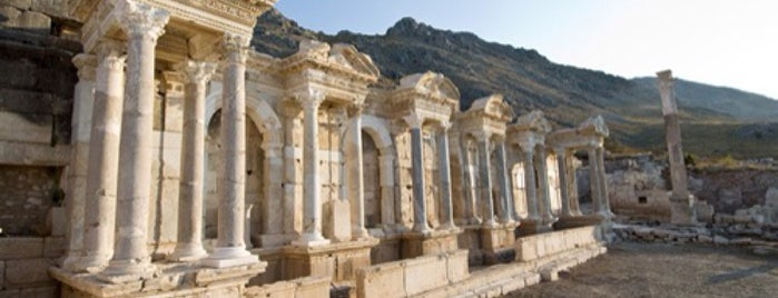 Sagalassos-Antik Şehir is one of AntaLya :)).