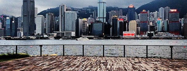 West Kowloon Waterfront Promenade is one of Hong Kong.