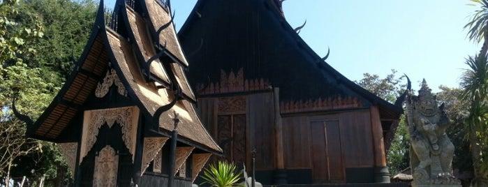 Baandam Museum & Gallery is one of Chaing rai temple.