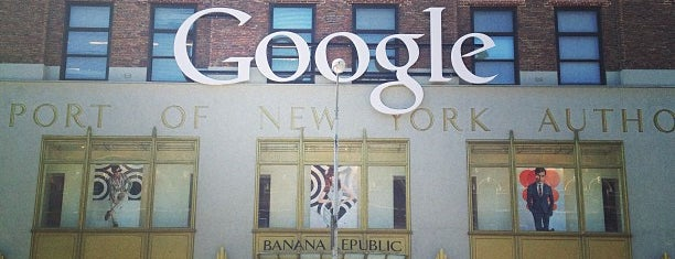Google New York is one of Ferias USA 2012.