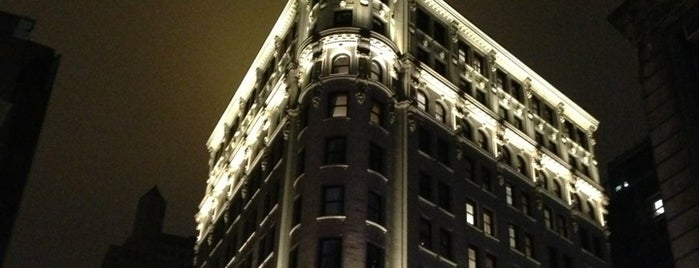 The NoMad Hotel is one of NYC places to go.