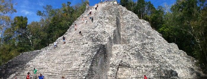 Zona Arqueológica Coba is one of Mexico // Cancun.