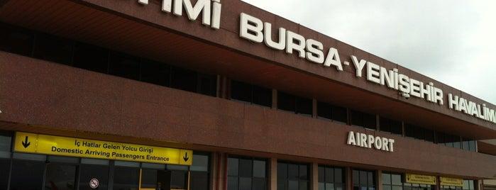Bursa Yenişehir Airport (YEI) is one of HAVALİMANLARI.