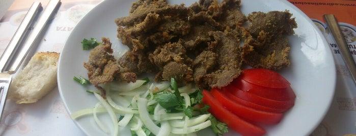 Edirne Ciğercisi Naci Usta is one of istanbulda arka sokak lezzetleri.