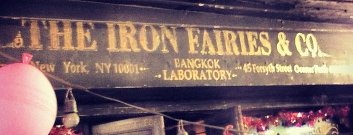 The Iron Fairies & Co is one of Bangkok.