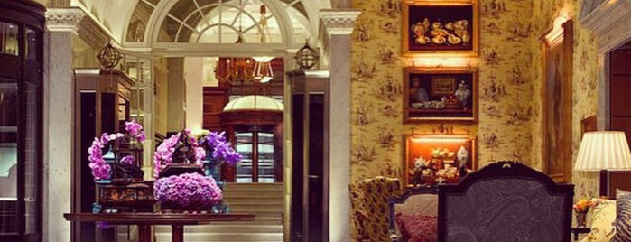 The Savoy Hotel is one of Favourite Hotels.