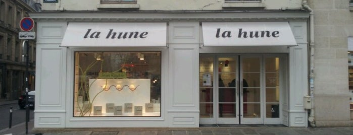 La Hune is one of Quartier Latin.