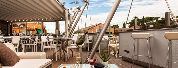 Hi-Res Restaurant & Terrace Lounge is one of Roma - a must! = Peter's Fav's.