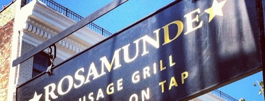 Rosamunde Sausage Grill is one of New York Todo.