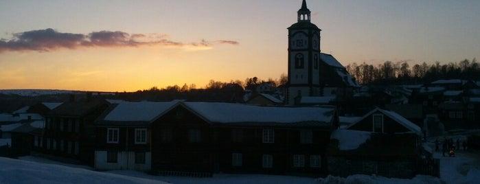 Røros is one of UNESCO World Heritage Sites.