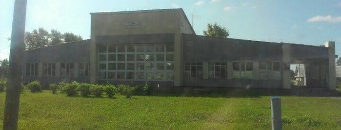 Ж/Д станция Поназырёво is one of Транссибирская магистраль.