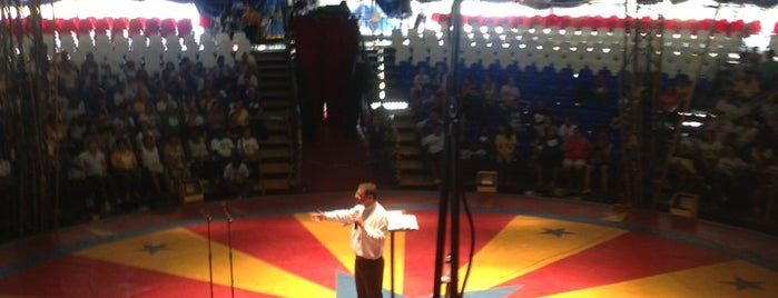 Circo Marcos Frota is one of #Rio2013 | Catequese [Portuguese].