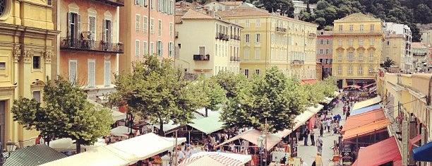 Marché aux Fleurs is one of Nizza.