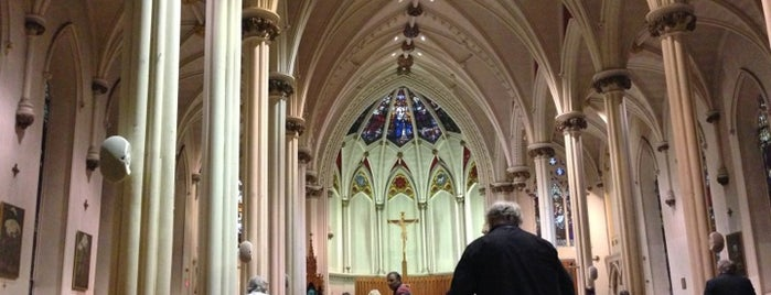 Saint Mary's Cathedral Basilica is one of Halifax, NS.