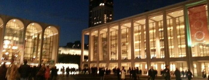 David Geffen Hall is one of New York City.