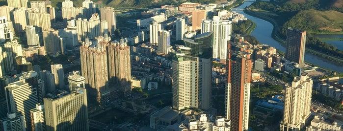 深圳瑞吉酒店 The St. Regis Shenzhen is one of 2016-12 HKG.