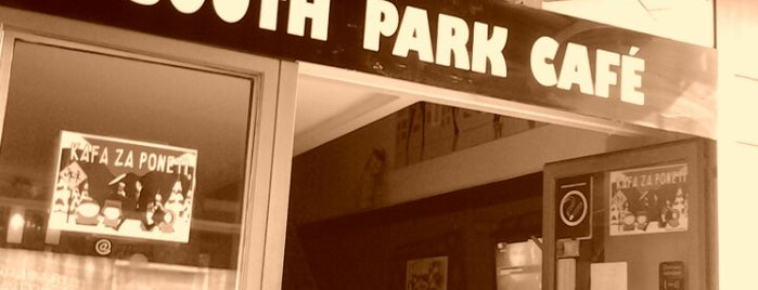 Southpark Cafe is one of Belgrade Free WIFI Cafe's.