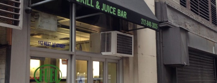 Fuel Grill and Juice Bar is one of NY.