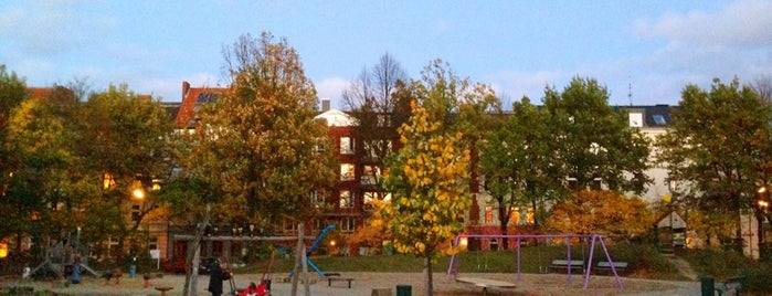 Spielplatz Zeiseweg is one of Hamburgs best.