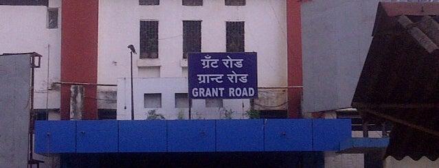 Grant Road Railway Station is one of Mumbai Suburban Western Railway.