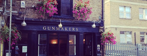 The Gunmakers is one of Best London Pubs.