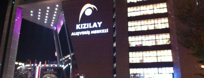 Kızılay AVM is one of Ankara AVM ve mağazaları.