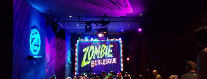 Zombie Burlesque is one of Vegas.