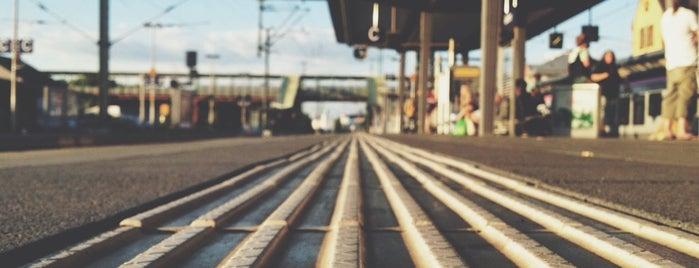 Bahnhof Gießen is one of Bahnhöfe Deutschland.