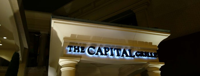 The Capital Grille is one of Eat, drink & be merry.
