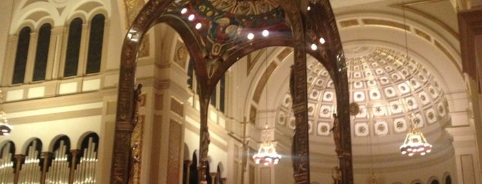 Franciscan Monastery of the Holy Land in America is one of DC's favorites.