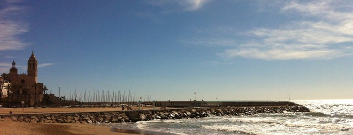 Ribera Beach is one of BOOM Sitges.