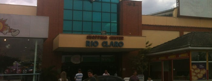 Shopping Rio Claro is one of Rio claro.