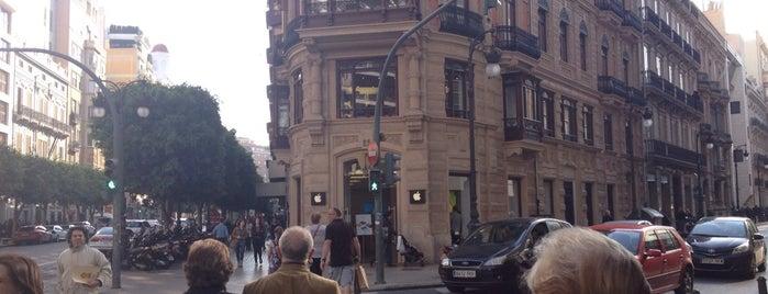 Apple Calle Colón is one of VA\LEN\CIA.