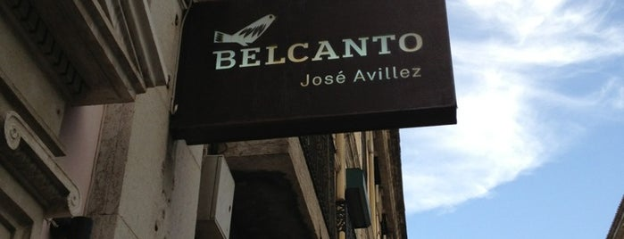 Belcanto is one of Restaurantes.