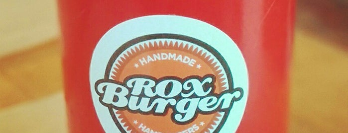Rox Burger is one of Burger London.