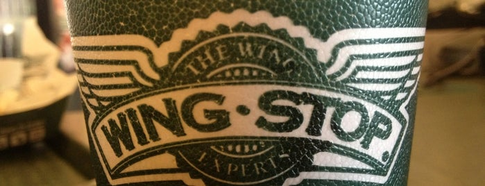 Wingstop is one of Favorite food (:.