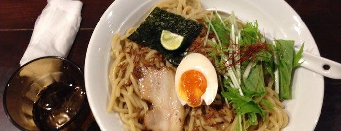 麺屋 航 is one of 東京オキニラーメン.