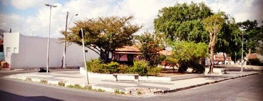 Praca da Paquera is one of cruz das almas.