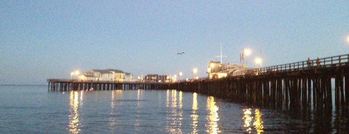 Santa Barbara Pier is one of California..