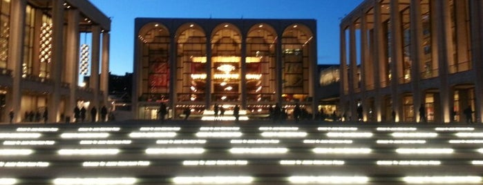 Lincoln Center for the Performing Arts is one of 2012 - New York.