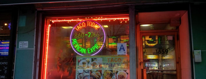 Taco Today is one of Be a Foodie!.