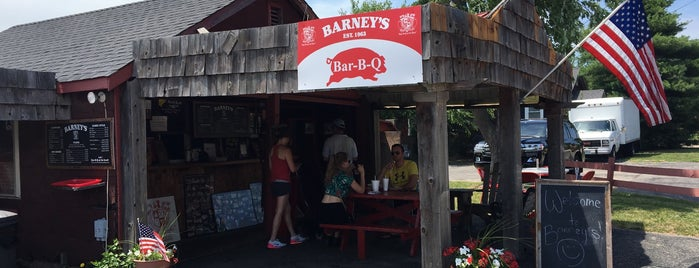 Barney's BBQ is one of Favorites.