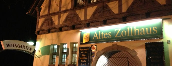Altes Zollhaus is one of Berlin Tasty Food.