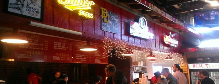 Rudy's Country Store And Bar-B-Q is one of Baylor University.