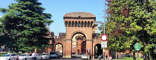 Porta Saragozza is one of Il verde a Bologna.