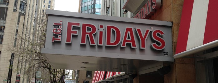 TGI Fridays is one of Chicago Bulls Bars in Chicago.