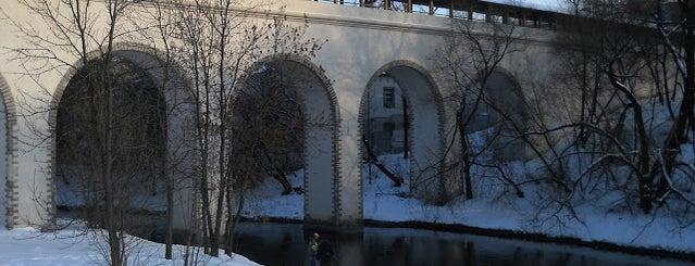 Ростокинский акведук is one of Eventually.